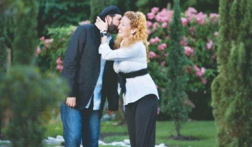 Juan Luis Guerra y su esposa Nora.
