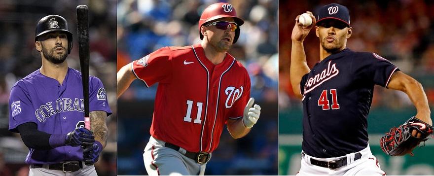 Tres jugadores más de MLB no participarán en temporada.