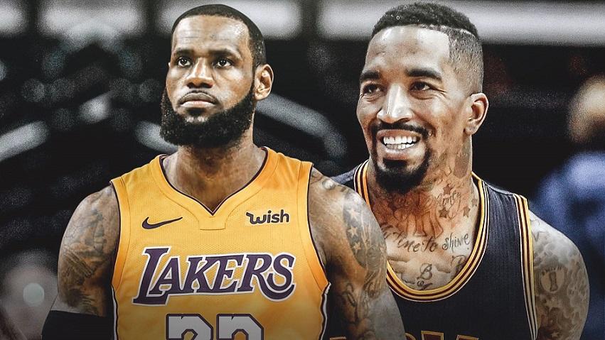 Lakers firman a J.R. Smith por el resto de la temporada.