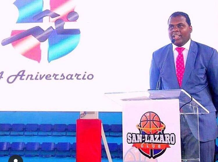 Milton Díaz, presidente del club San Lázaro.