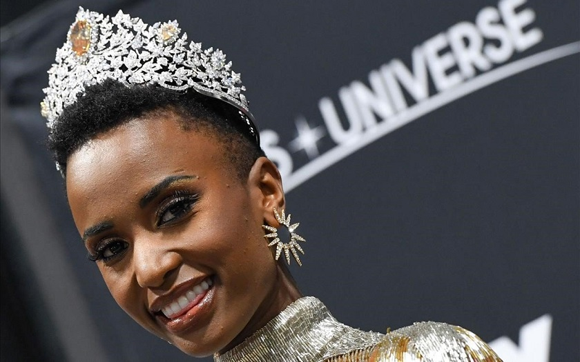 Miss Universo Zozibini Tunzi se suma a protestas contra el racism.