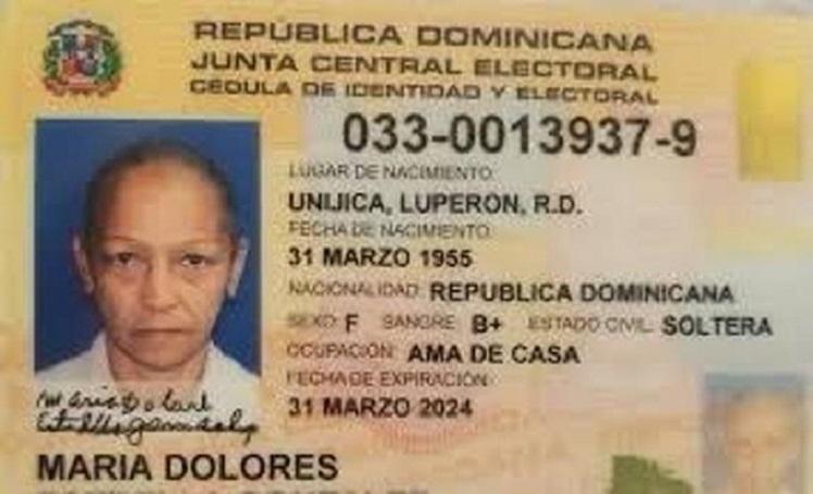 Mujer encontrada muerta en su residencia. (Fuente Edgar Lantigua)