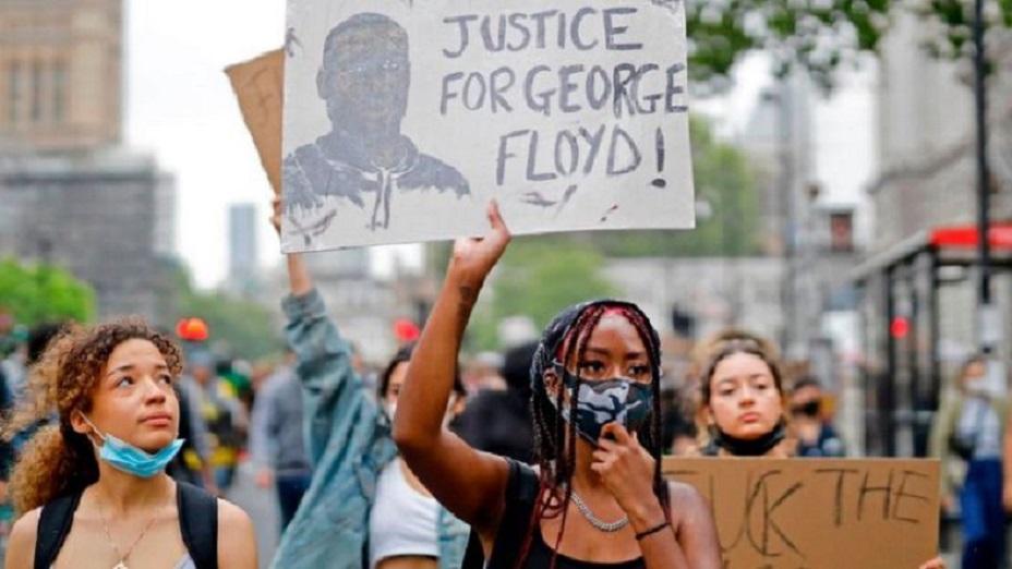 Protestas por la muerte de George Floyd se han dado en varias partes del mundo.