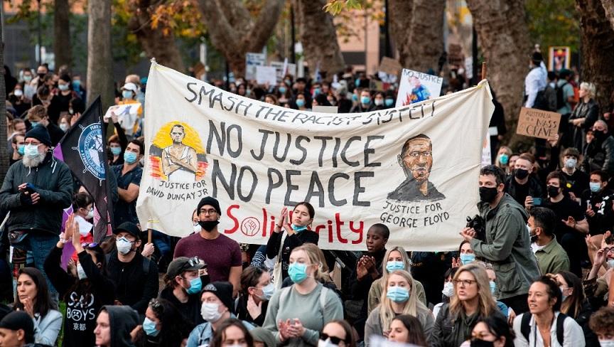 Movimiento Black Lives Matter trasciende en todo el mundo.