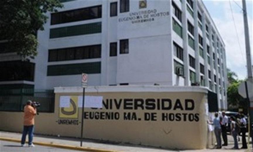Estudiantes denuncian avería plataforma Universidad Eugenio María de Hostos.