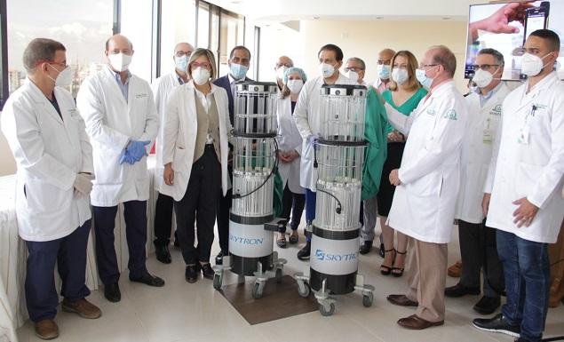 Instalan en el país robot de desinfección contra Covid-19, virus y bacterias