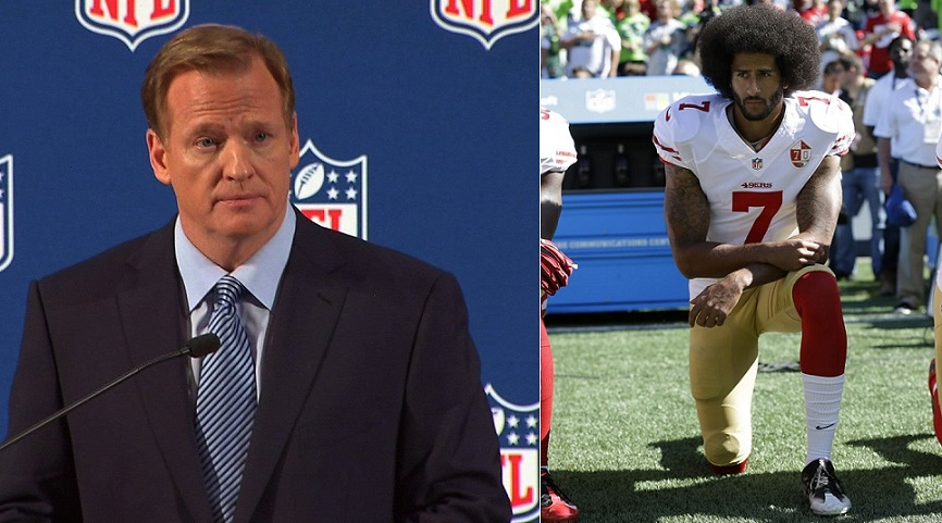 Comisionado NFL lamenta no escuchar reclamo racial de jugadores.