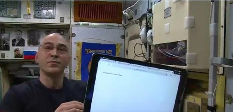 Ruso Ivanishin, primer cosmonauta en votar desde Estación Espacial.