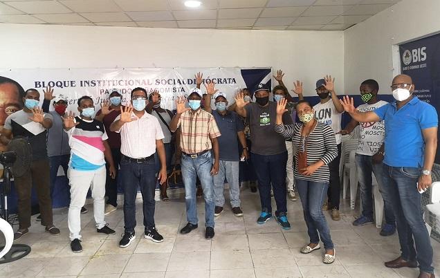Rafael Slinger recibe apoyo del BIS en Santo Domingo Oeste