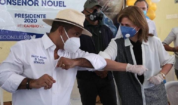Héctor Acosta ganaría senaduría de Monseñor Nouel, según encuestas