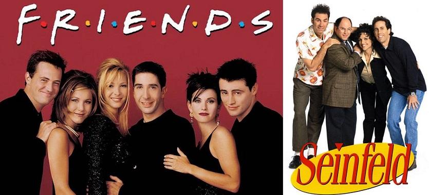 Ranking de las mejores series de comedia de la historia.