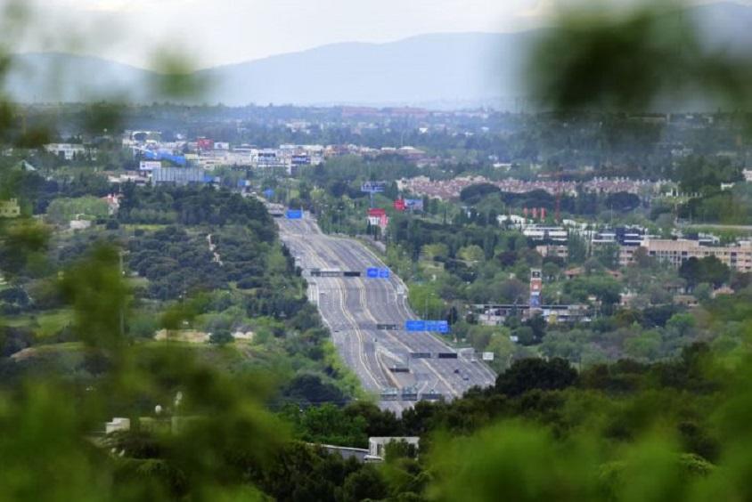 Vista de la autovía A-6 que une a Coruña y Madrid. (Fuente: Ely Pineiro/Getty Images)