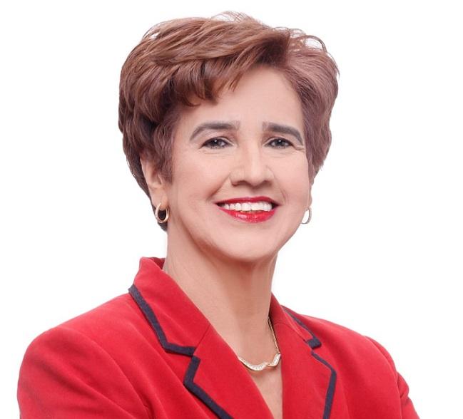 Diana Contreras candidata a diputado por el PRM.