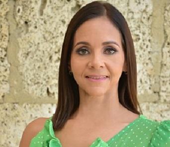 Claudine nova ,presidente cronistas sociales