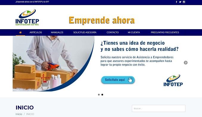 """INFOTEP relanza su portal """"Emprende ahora"""" en apoyo a las Pymes"""