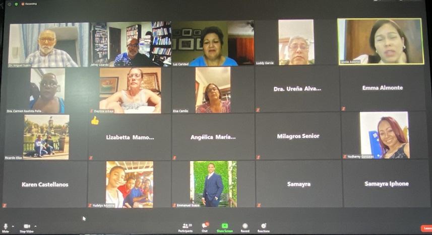 Red CBA realiza encuentro virtual.