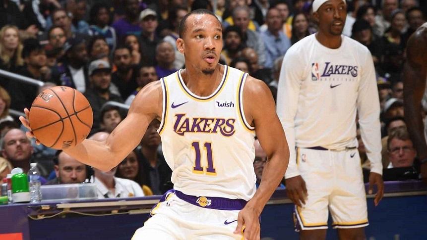 El escolta Avery Bradley, de los Lakers, no jugará.