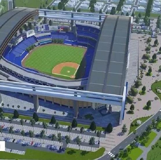 David Ortiz anuncia planes de construir moderno estadio de béisbol en RD.
