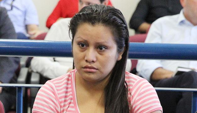Evelyn Beatriz Hernández enjuiciada por abortar.