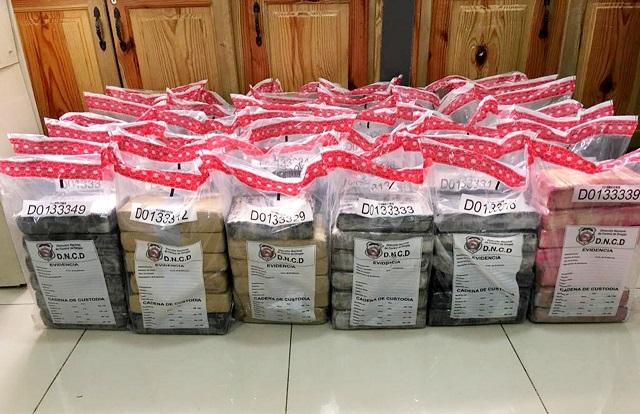 DNCD ocupa 253 paquetes de droga en Puerto Multimodal Caucedo