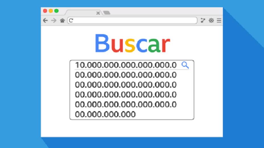 Un gúgol es un 1 seguido de 100 ceros y es el término que inspiró el nombre del buscador Google.