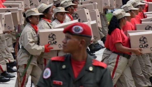 El gobierno de EE.UU. acusa a Saab de negocios fraudulentos a través del programa CLAP, que entrega cajas de alimentos a familias necesitadas de Venezuela.