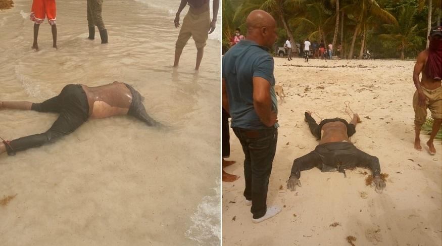 Encuentran hombre decapitado en playa de Samaná.