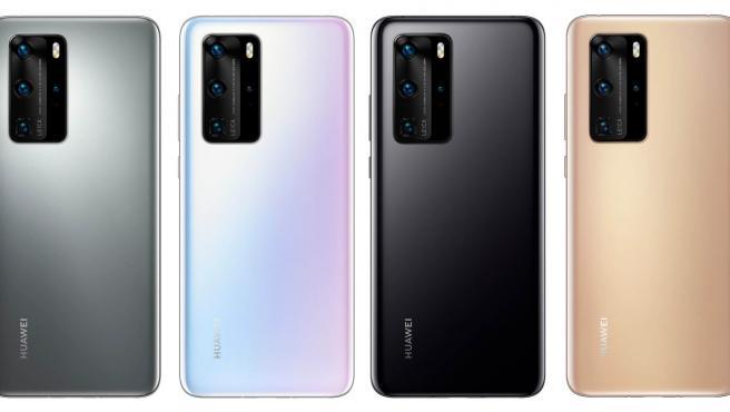 Claro y Huawei presentan al mercado serie de smartphones P40