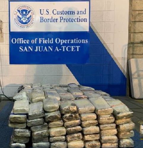 Incautan 260 kilos de cocaína dentro de ferry.