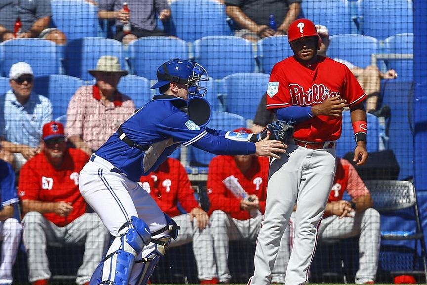 Jugadores de Phillies y Toronto dan positivo al coronavirus.