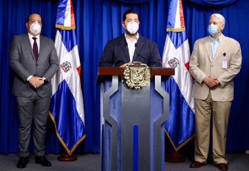 Miembros del Comité de Emergencias y Gestión Sanitaria para el combate al COVID-19.