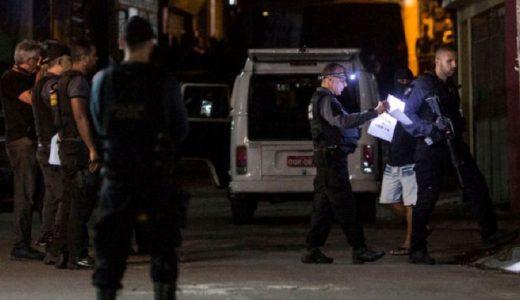La policía brasileña es una de las más letales del mundo.