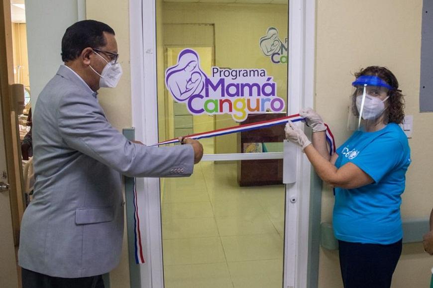 Anuncian programa Mamá Canguro en hospitales.