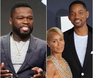 """50 Cent se burla de Will Smith por la """"infidelidad"""" de Jada y el actor lo insultó"""
