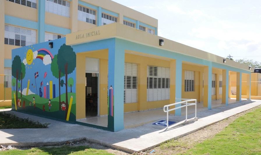 Aula inicial de una escuela.