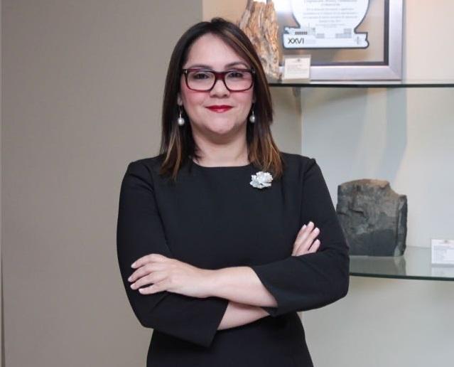 Elizabeth Mena presidente ADOEXPO.