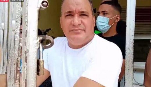 Julio Pérez muerto a tiros en centro de votación.