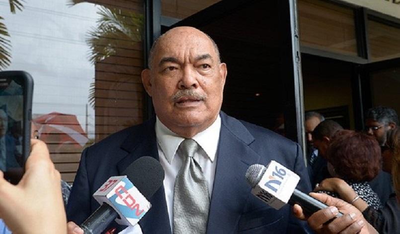 Ramón Alburquerque, expresidente del senado y dirigente PRM.