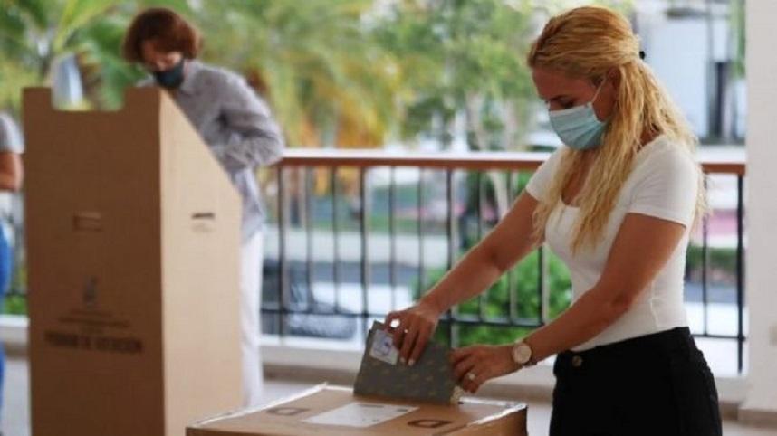 República Dominicana celebra unas elecciones sin precedentes, en medio de la pandemia de coronavirus. (Fuente: Reuters)