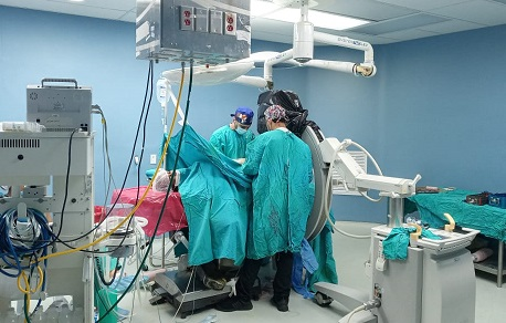 SNS beneficia a personas con Cirugías Ortopédicas sin costo de materiales