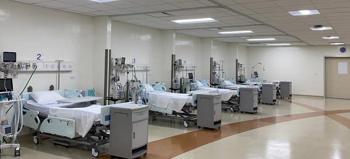 SNS entrega 36 camas para cuidado intensivo a ciudad sanitaria