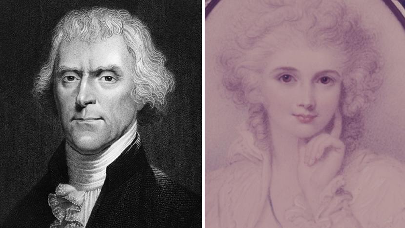 Thomas Jefferson y su historia de amor.