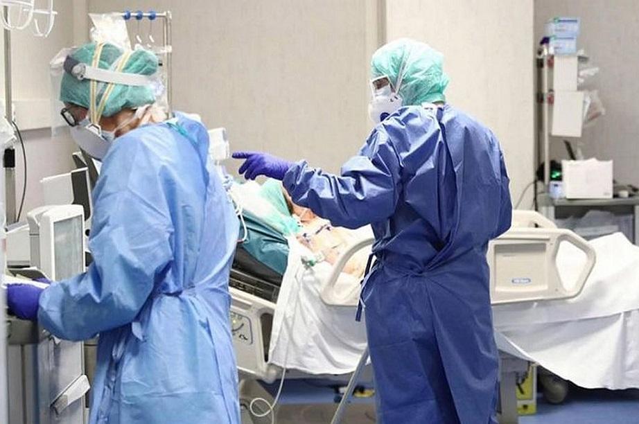 Unidad de cuidados intensivos en hospital de República Dominicana. (Fuente: externa)
