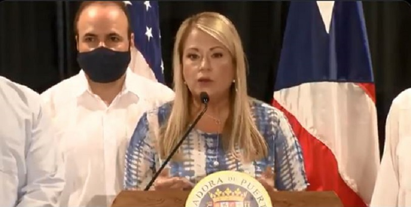 La gobernadora de Puerto Rico Wanda Vázquez.