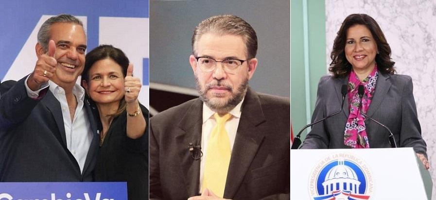 Candidatos anuncian horarios de votaciones para elecciones.