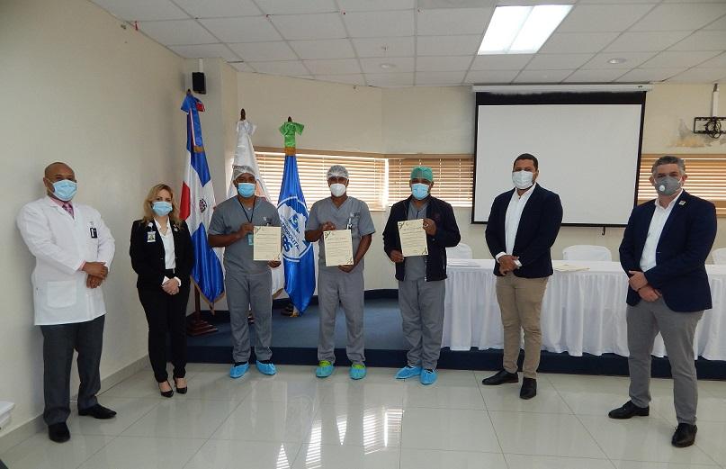 CNE certifica al Hospital Pediátrico Hugo Mendoza.