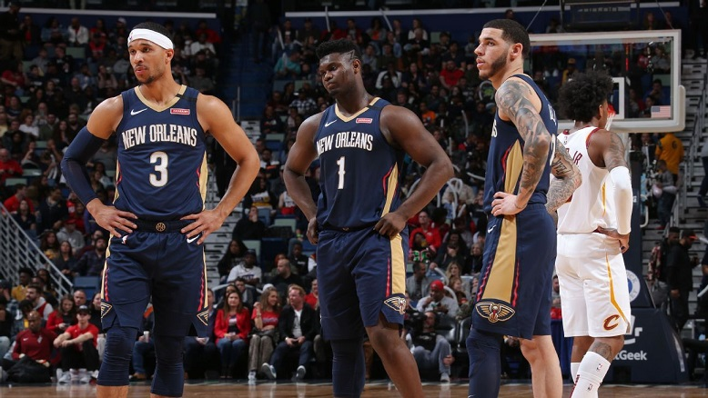 Tres jugadores de Pelicans positivos a COVID-19.