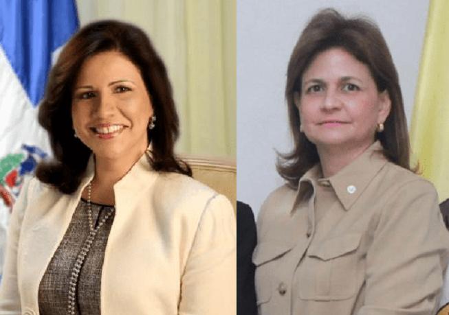 Magarita Cedeño y Raquel Peña.