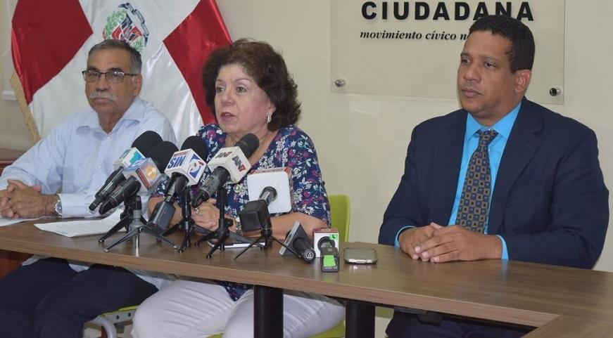 Participación Ciudadana pide hacer público estado financiero instituciones.