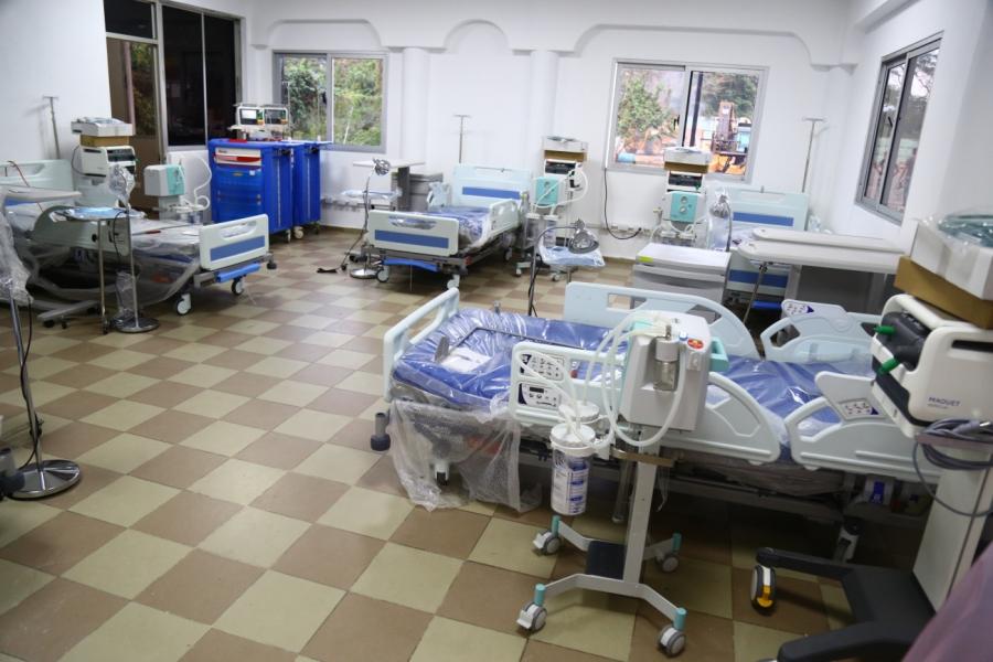MSP habilitará 60 camas para pacientes con coronavirus en Santiago.
